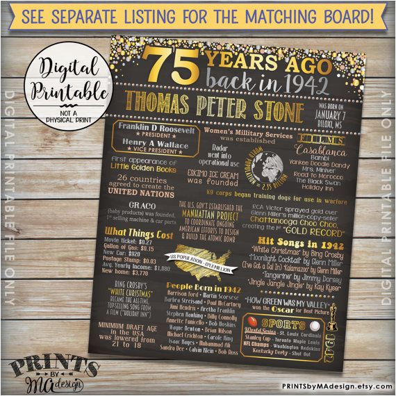 Funny 75th Birthday Invitations Best 25 Decorations Ideas On Pinterest