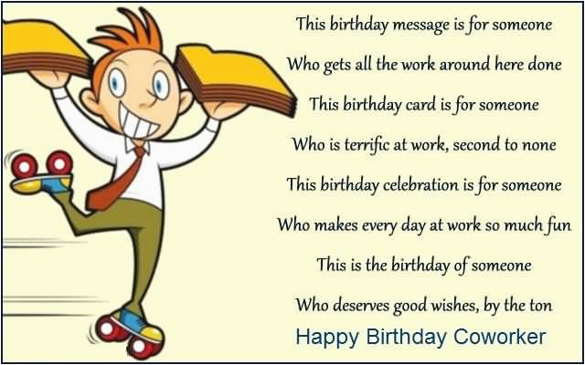 Funny Birthday Card Messages For Coworker Wishes Page 6