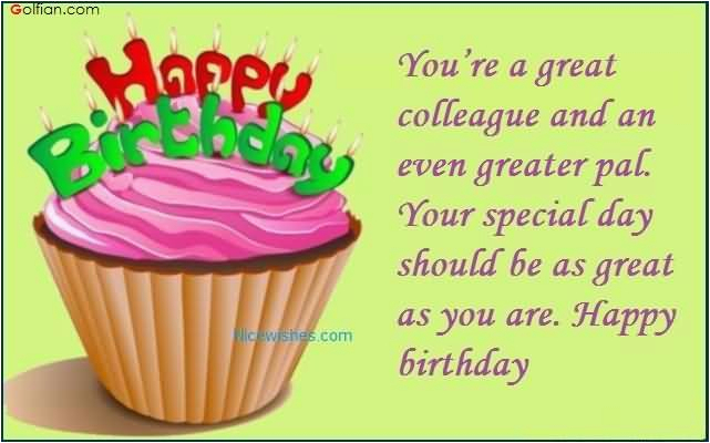 Funny Birthday Card Messages For Work Colleagues 45 Best Wishes Colleague Beautiful