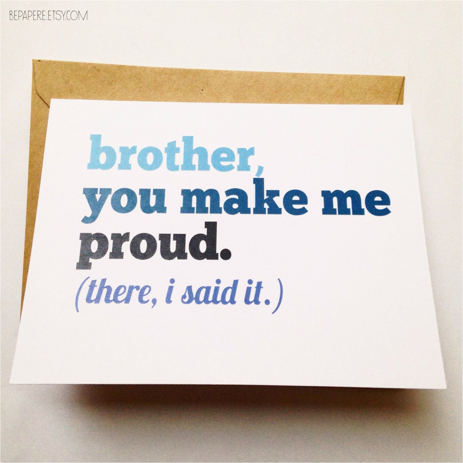 Funny Birthday Cards for Brothers Brother Card Brother