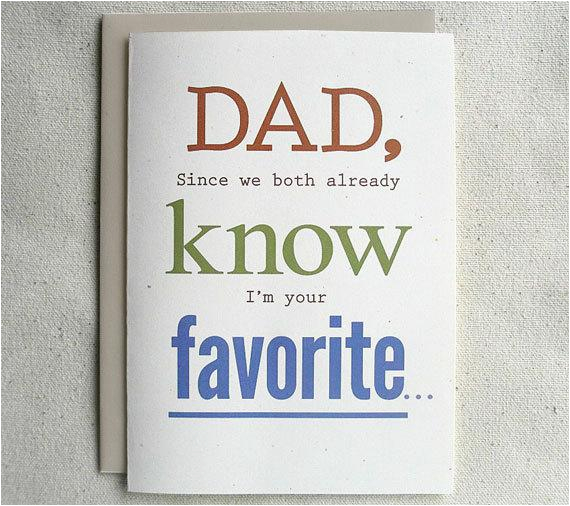 Funny Birthday Cards For Dad From Daughter Father Card Since We Both Already