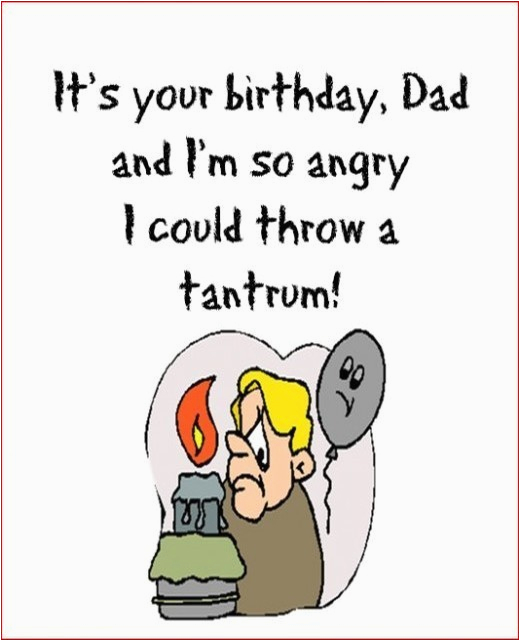 Funny Birthday Cards For Dads Happy Dad Free Greetings