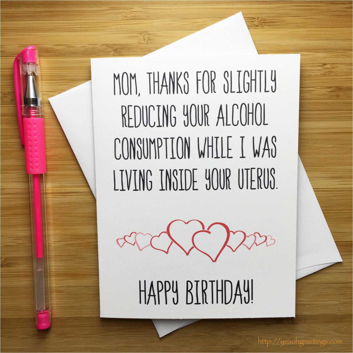 Funny Birthday Cards for Moms Mother Birthday Card Bday Card Mum Funny Birthday Card