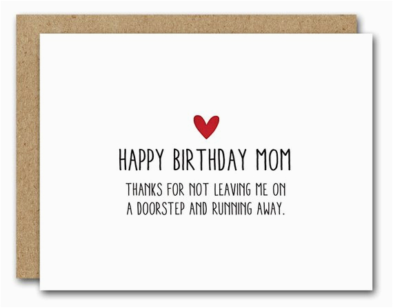 printable mom birthday card funny mom card instant download