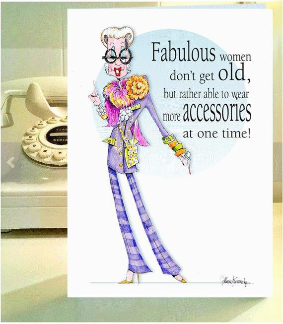 iris apfel funny woman humor card iris apfel card