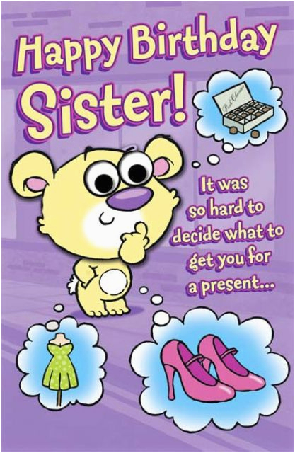 funny birthday ecards sister