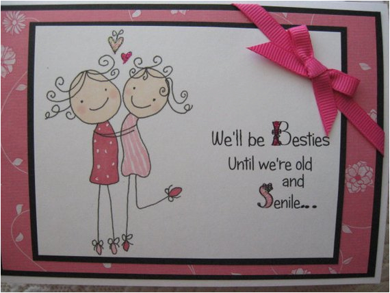 funny best friend birthday card for her