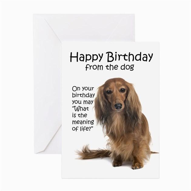 funny dachshund birthday greeting cards productid 1259619749