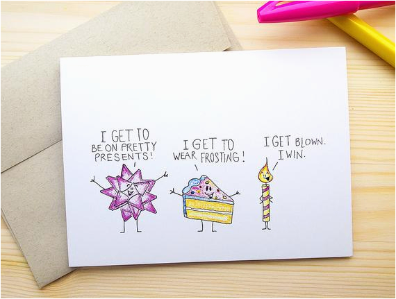 funny birthday card for him dirty