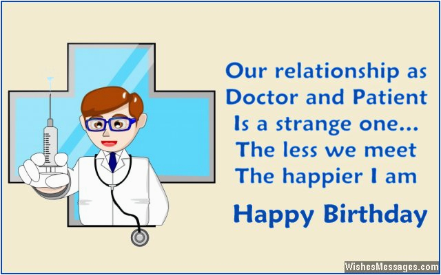birthday quotes for a doctor quotesgram