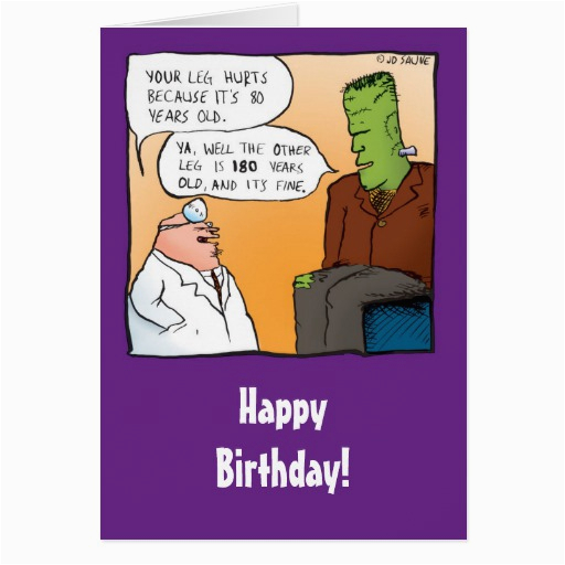Funny Doctor Birthday Cards Funny Frankensteins Doctor Birthday Card Zazzle