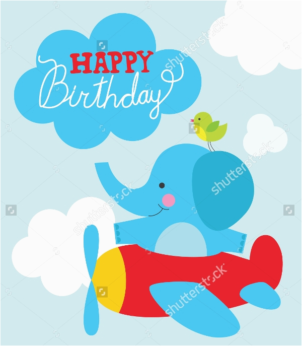 19 funny happy birthday cards free psd illustrator