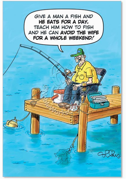 old fisherman joke card birthday quotes pinterest