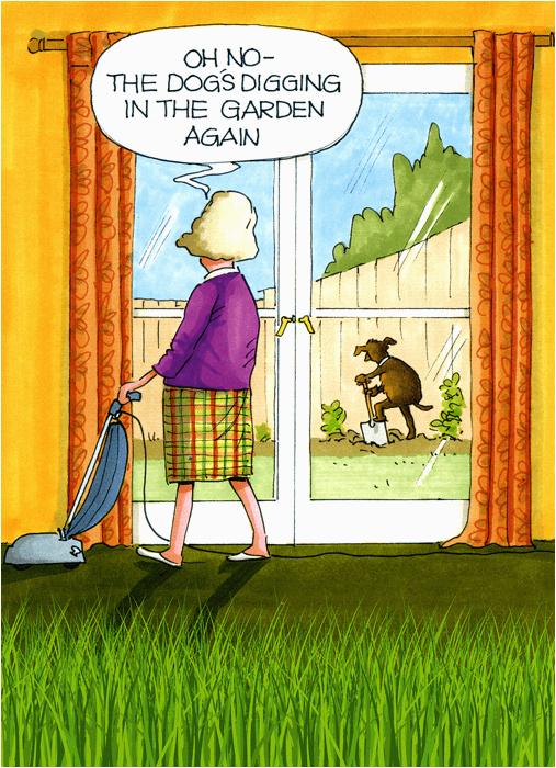 Funny Gardening Birthday Cards Comedy Card Company Comedy Card Company Funny Birthday