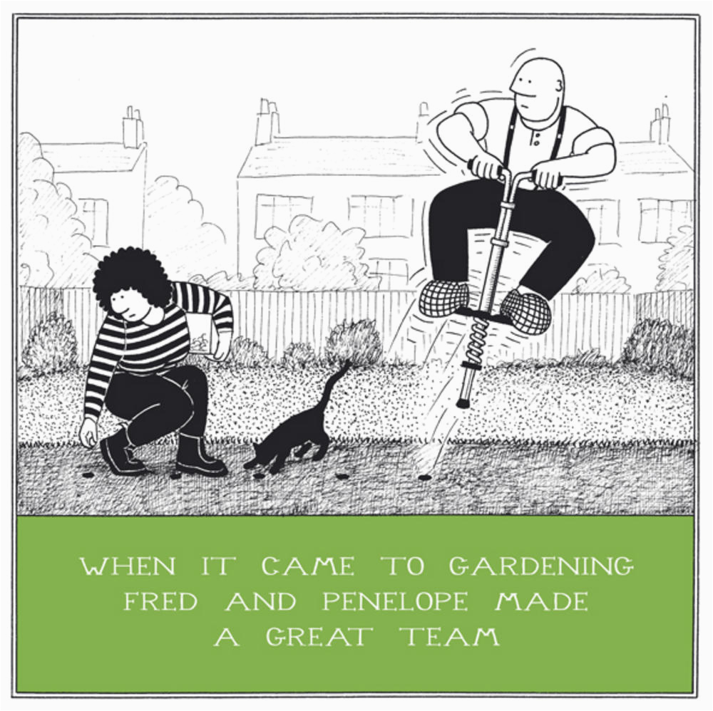 Funny Gardening Birthday Cards Gardening Great Team Funny Fred Birthday Card Cards