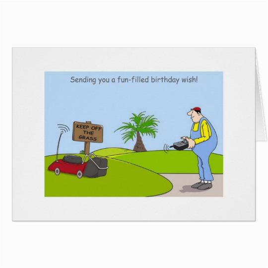 happy birthday gardening cards funny gardener card
