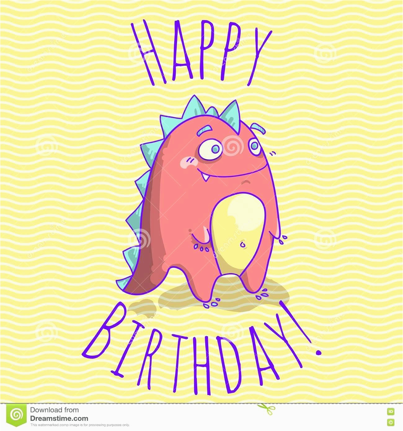template funny birthday card template make a wish and