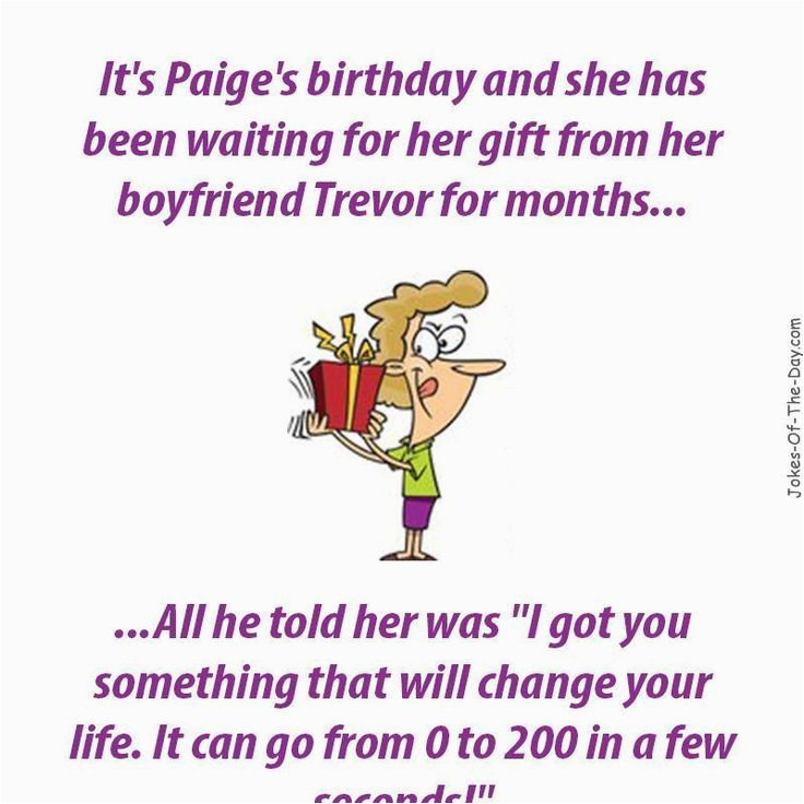 Funny Jokes For Birthday Cards