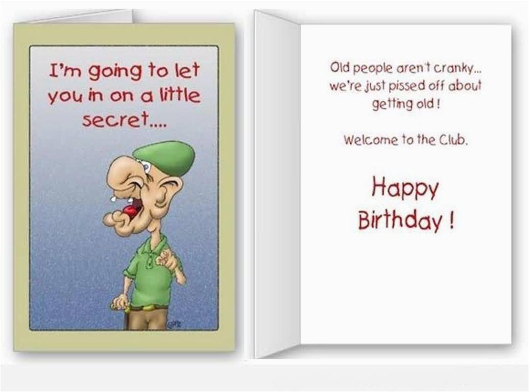 unique funny message happy birthday e card