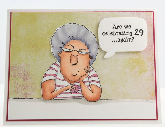 Funny Senior Birthday Cards Handmade Happy Birthday Card Seniors Birthday Card Funny