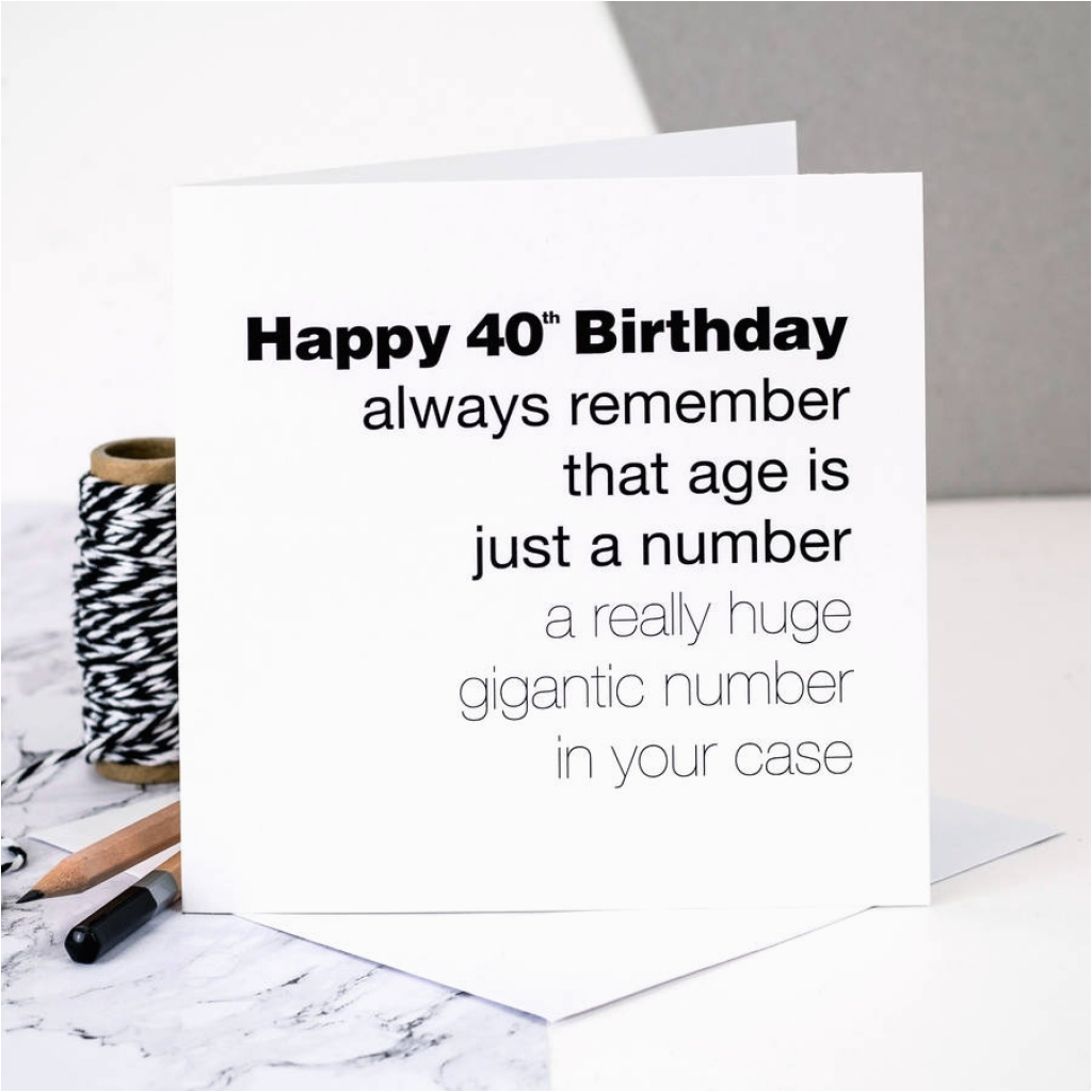 things to write in a 40th birthday card card design ideas
