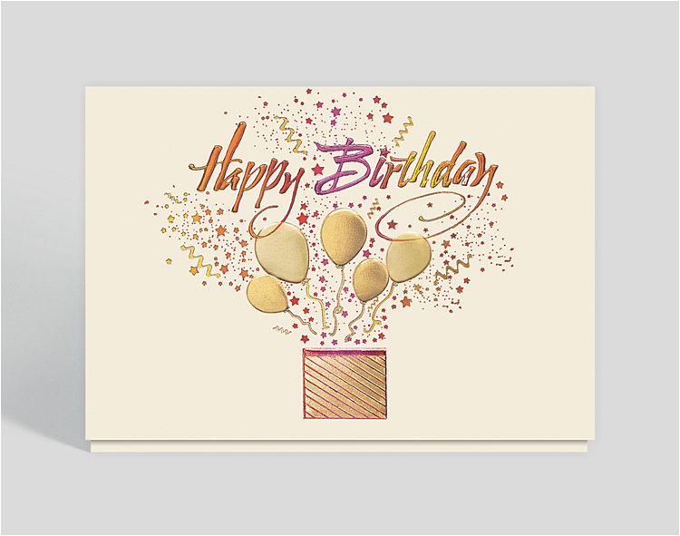 starburst celebration birthday card 300203