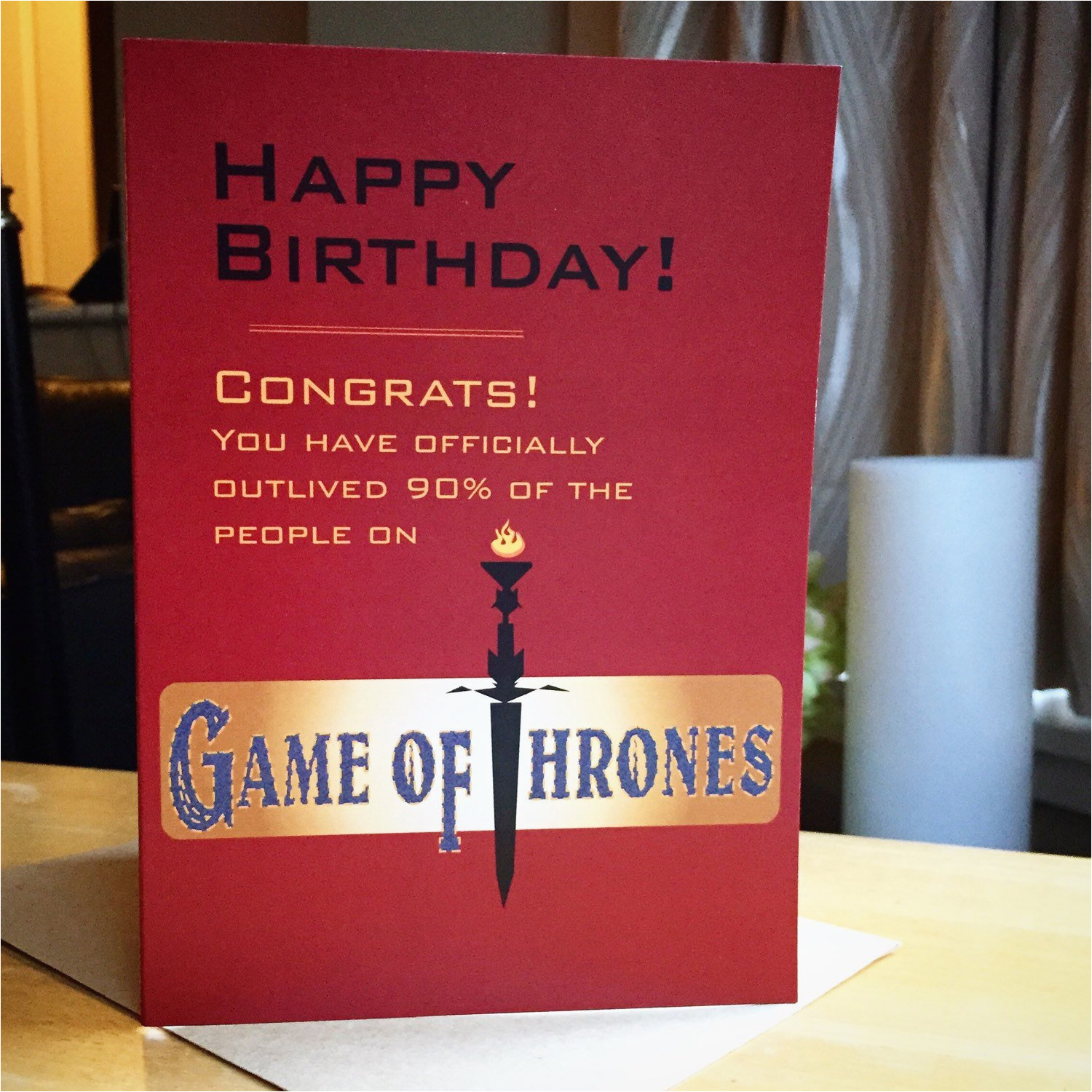 funny game of thrones birthday card ref related 1