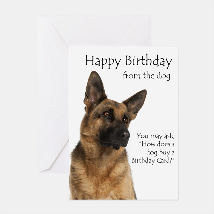german shepherd dog greeting cards thank you cards and
