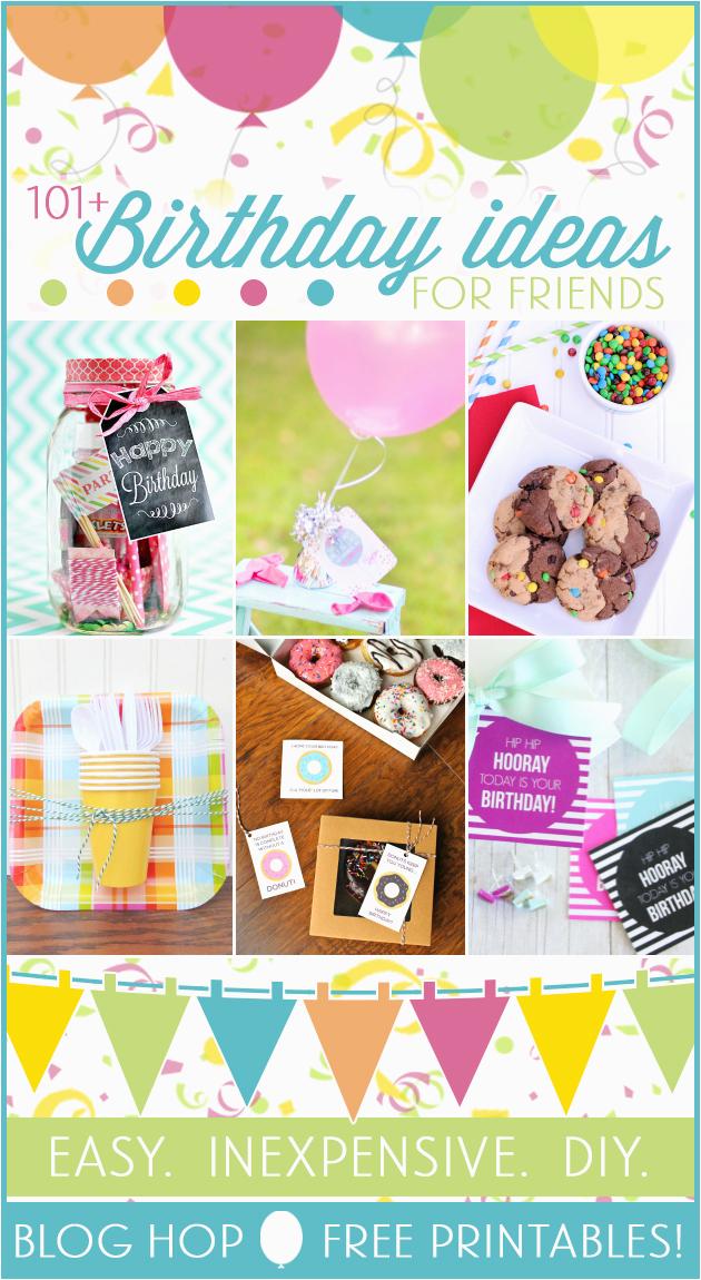tea riffic birthday printable 101 friend birthday gift