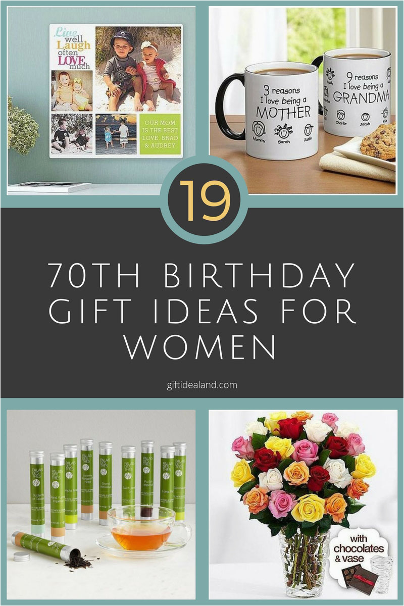 Gift Ideas For Mom On Her Birthday 19 Great 70th Women