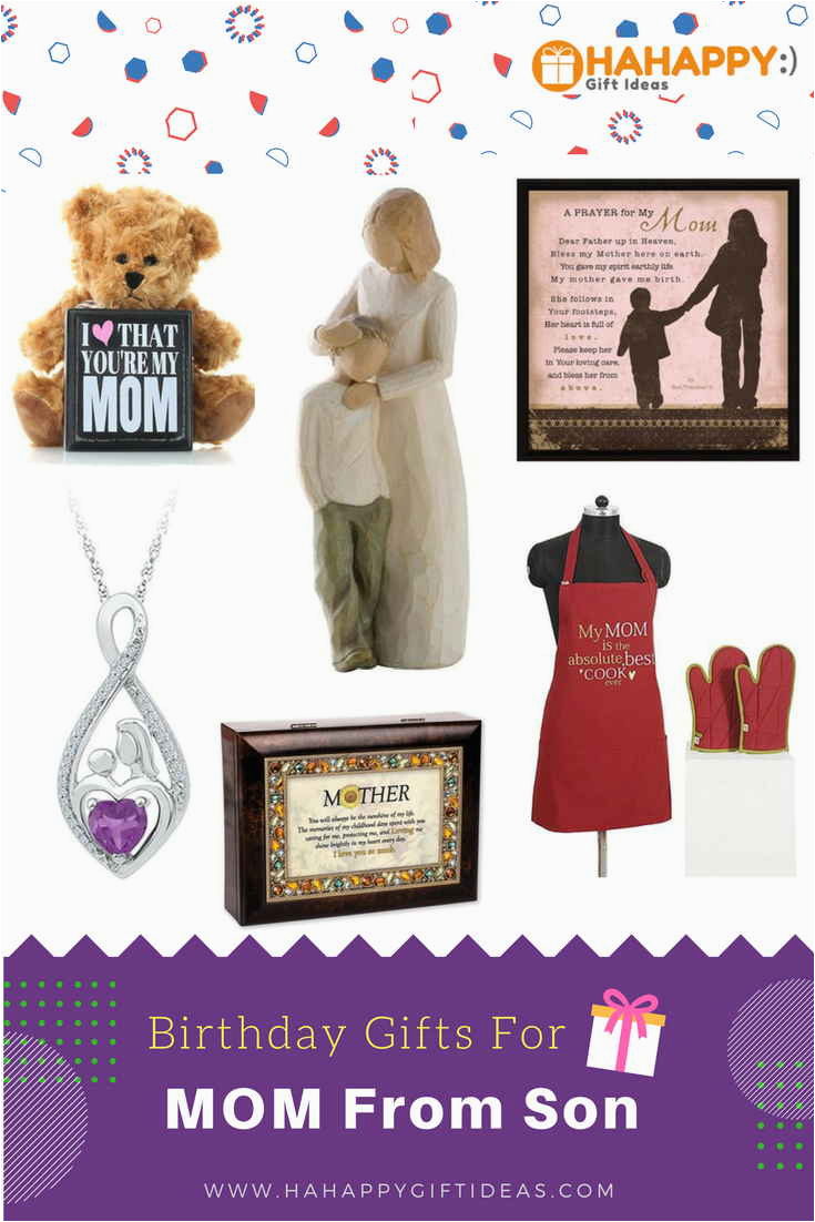 Gift Ideas For Mom On Her Birthday Unique Thoughtful Gifts From Son Hahappy