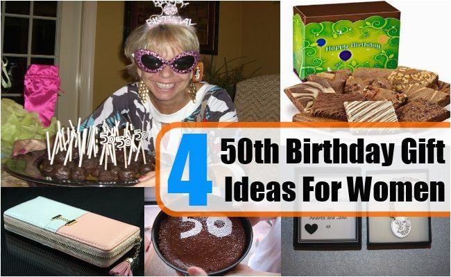 four 50th birthday gift ideas for women gift ideas