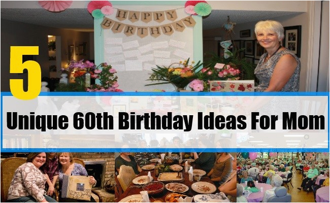 gift ideas for 60th birthday for mom bash corner