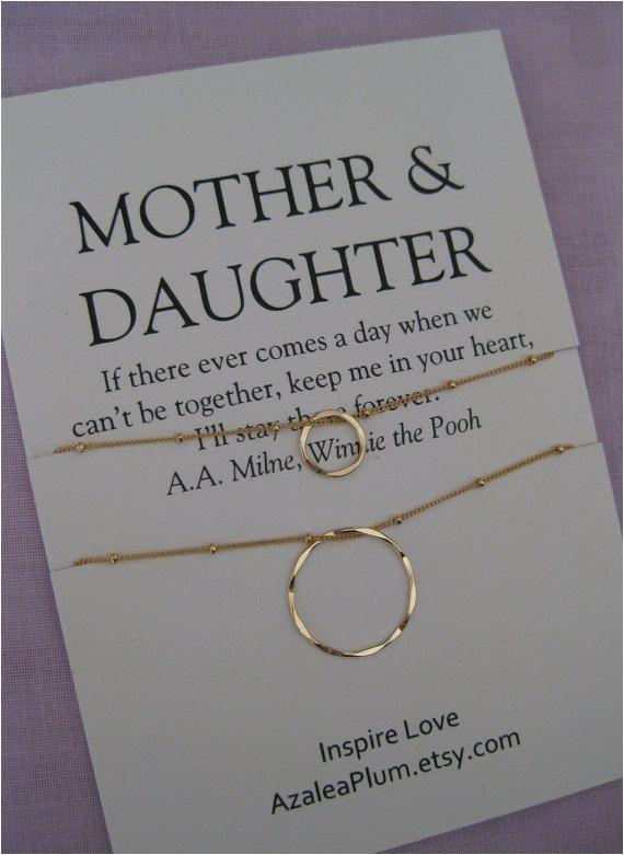 mother daughter jewelry mother 39 s day gift mother