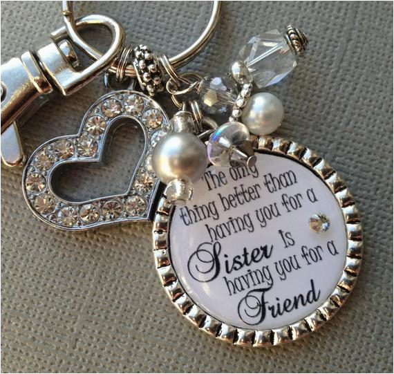 sister gift personalized wedding quote birthday gift maid of