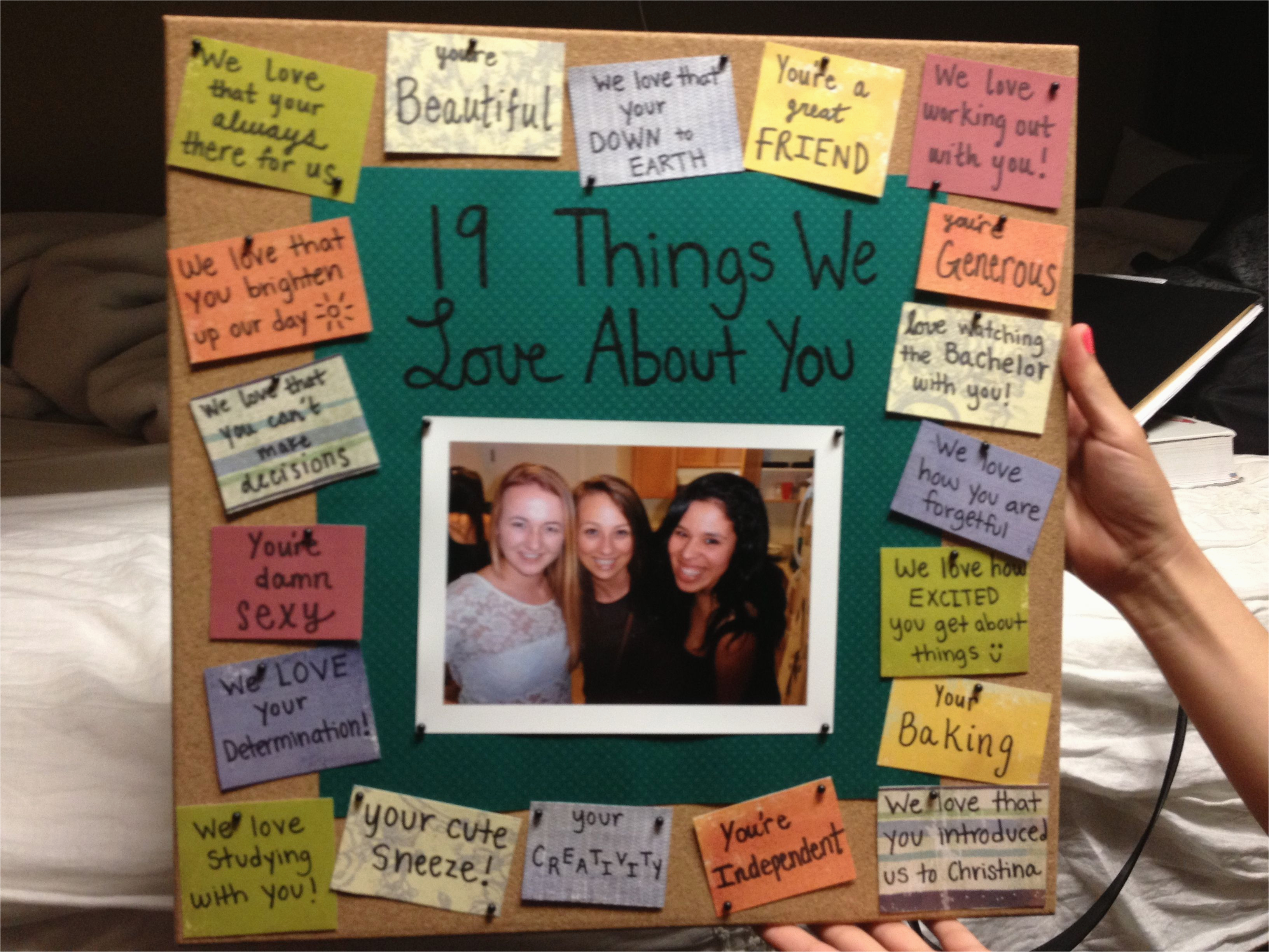 Birthday Gift For Best Friend Bulletinboard