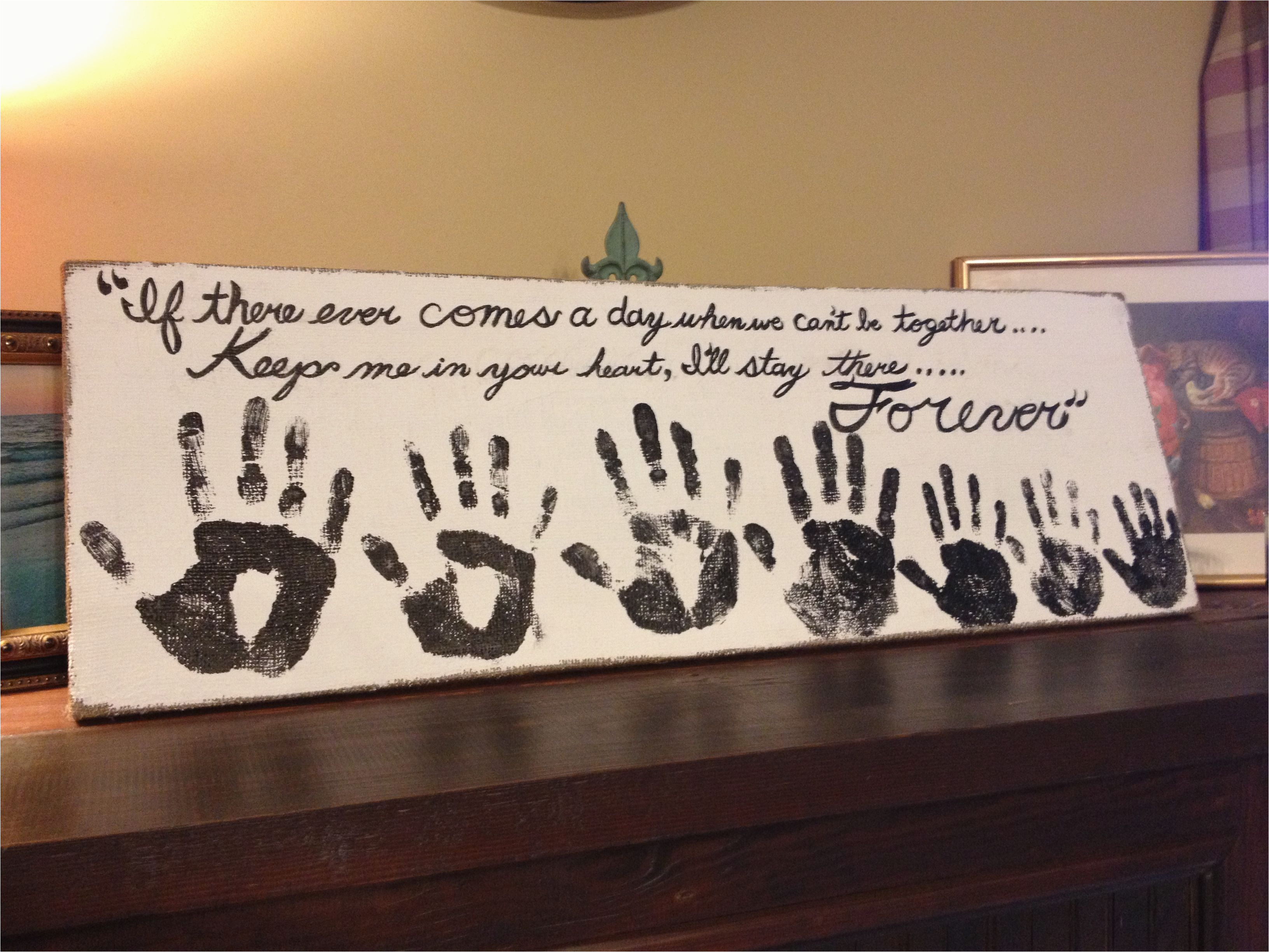 Gifts To Get Your Mother For Her Birthday Moms Gift A Hand Print From Each