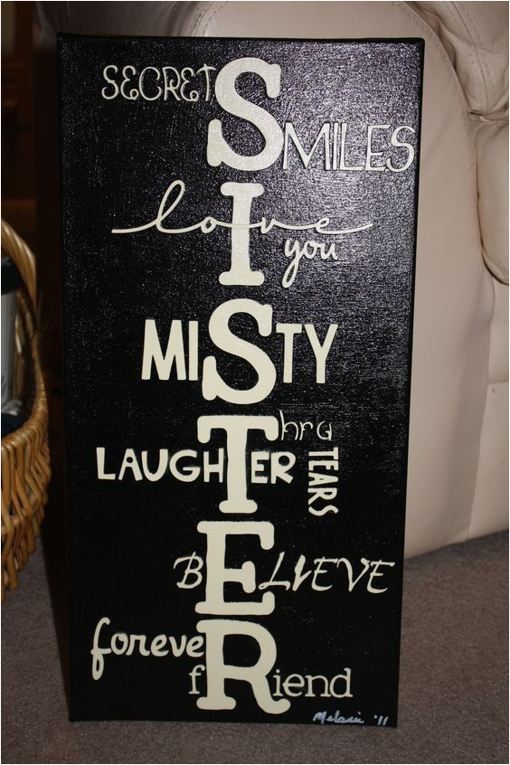 Gifts To Get Your Sister For Her Birthday Best 25 Crafts Ideas On Pinterest Alpha