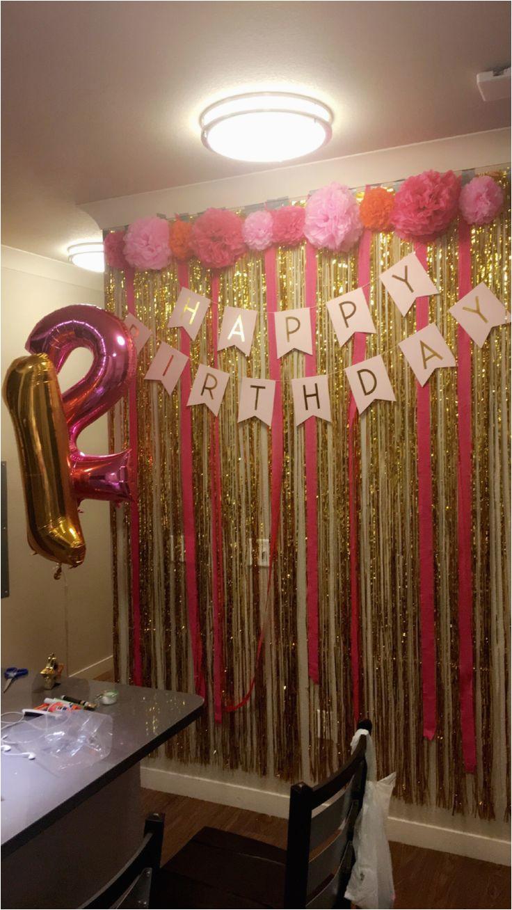 Rosevine Cottage Girls Rose Gold 21st Birthday Party