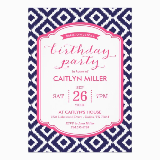 Girly Birthday Invitation Templates 40th Birthday Ideas Girly Birthday Invitation Templates