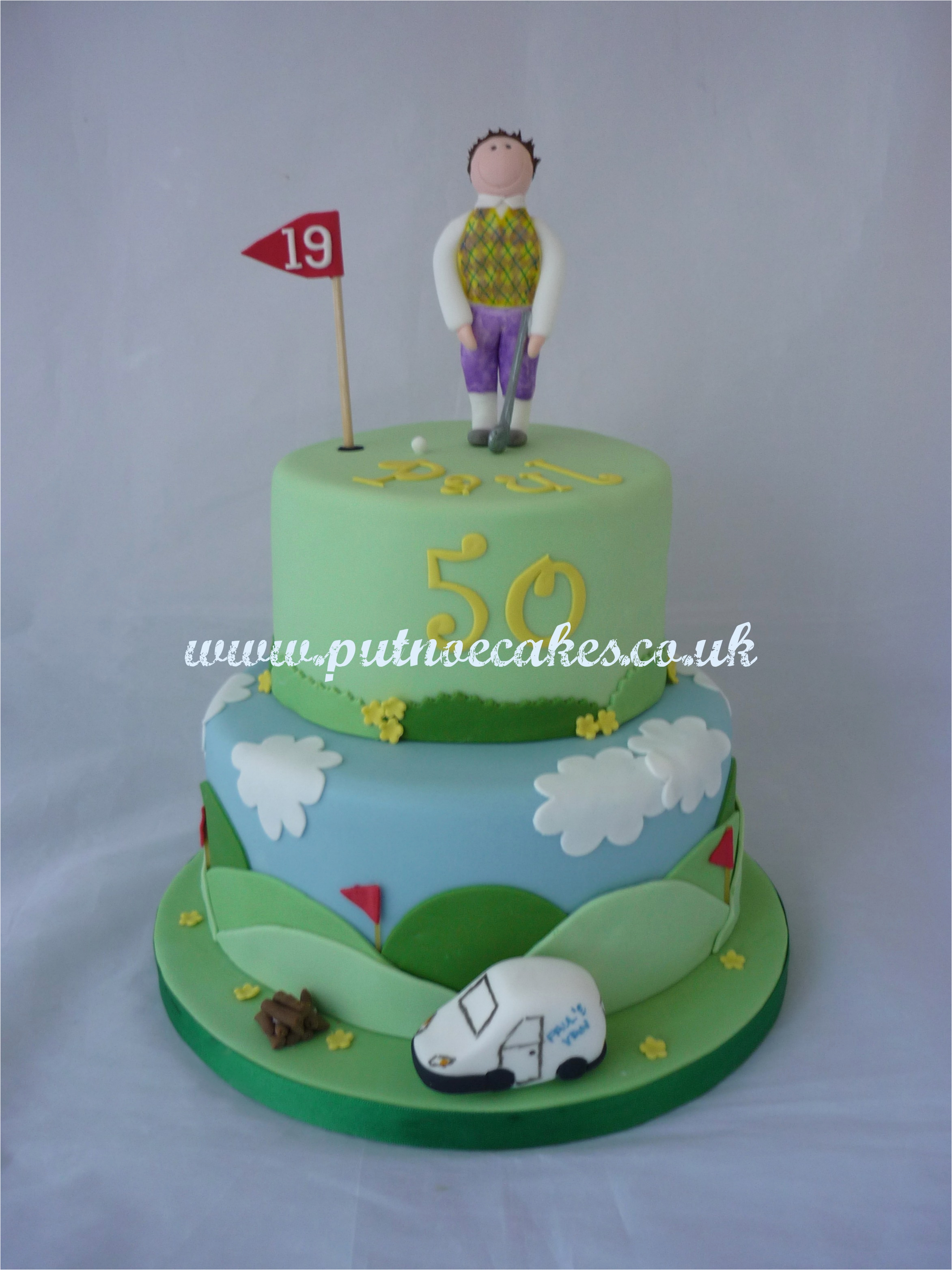 Golf 40th Birthday Ideas 9 Cakes For Men Photo Happy