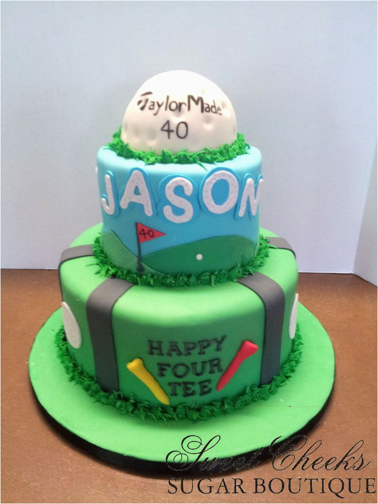 Golf 40th Birthday Ideas 9 Cakes For Men Photo Happy