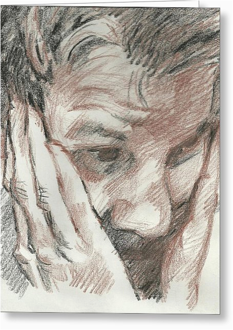 portrait of gordon ramsay drawing by douglas manry