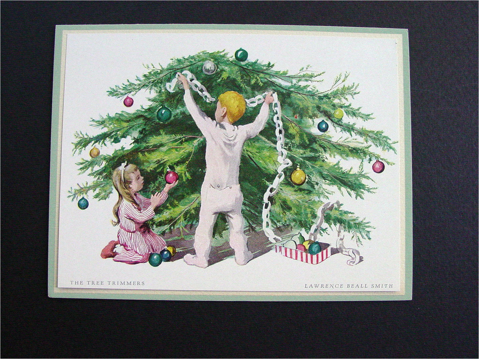 the tree trimmers by lawrence beall smith vintage aaa
