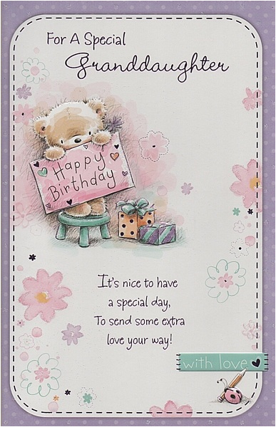 Granddaughter 13th Birthday Card Happy Quotes Quotesgram