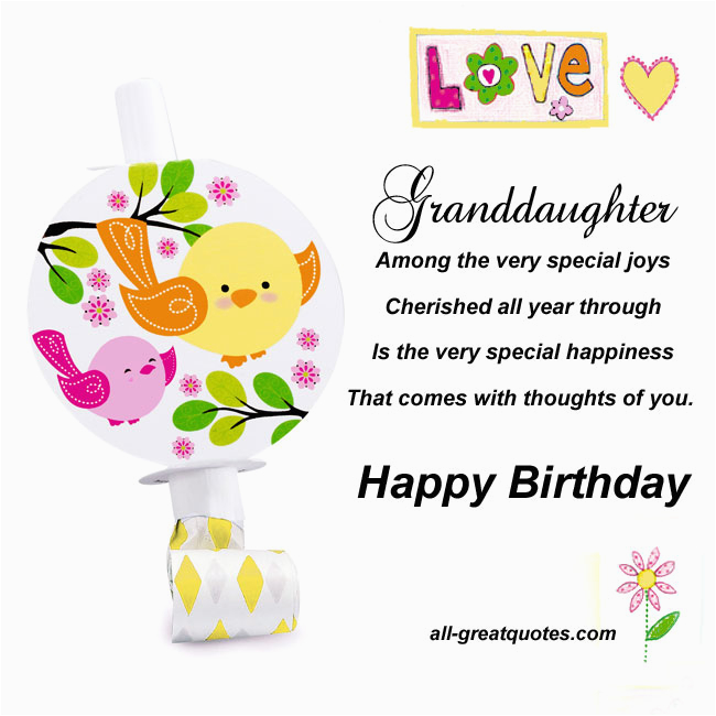 birthday quotes for granddaughter