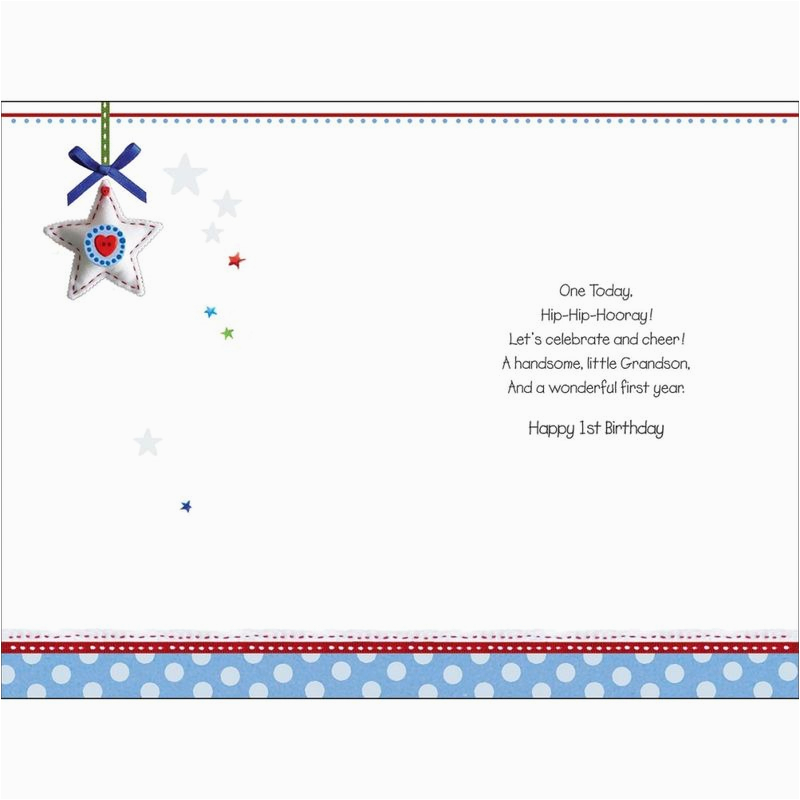 Granddaughter 1st Birthday Card Verses Tale