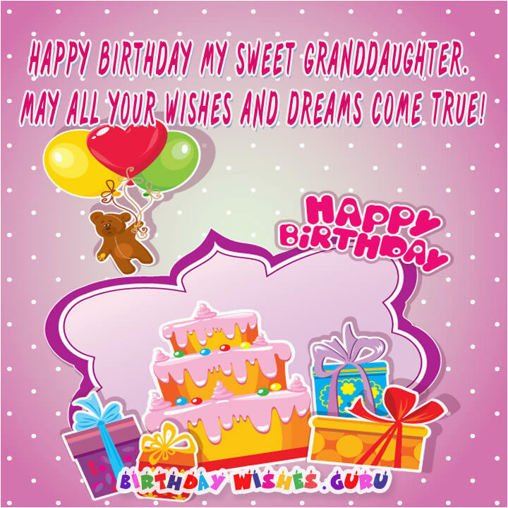 happy birthday wishes for granddaughter