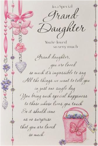 Granddaughter Birthday Cards For Facebook Happy Post On Wall