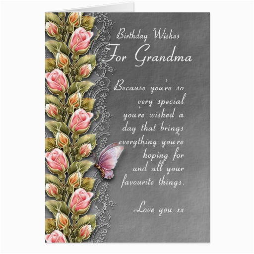 Grandma 90th Birthday Card Quotes For Grandmother Quotesgram